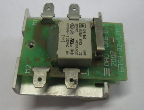 БППЭ — устройство управления электродвигателем ручной цепной пилы