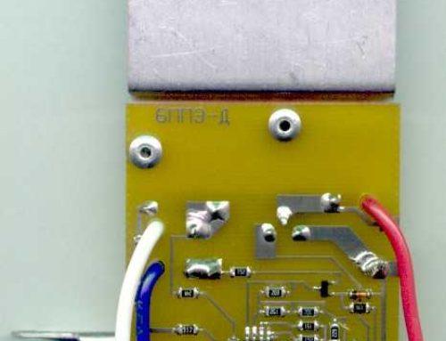 БППЭ-Д — устройство управления электродвигателем ручной дисковой пилы