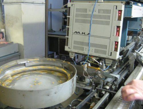 Система управления установкой компаундирования конденсаторов